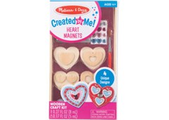 Melissa & Doug - Created by Me! Heart Magnets