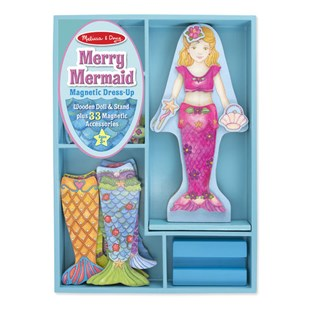 Melissa & Doug Mermaid Magnetic Dress Up Play Set - Children's Toys & Games Arts & Crafts