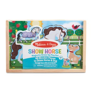 Show Horse Magnetic Dress-Up Play Set - Children's Toys & Games Dress Up & Role Play