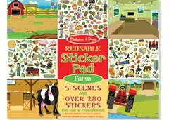 Melissa & Doug - Reusable Sticker Pad - Farm