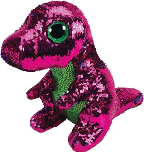 Reg Flippable Stompy Pink Dragon - Children's Toys & Games Plush