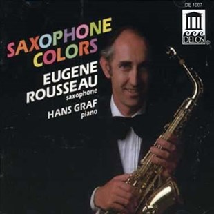 Saxophone Colors (Rousseau, Graf) - CD / Album - Music Classical Music