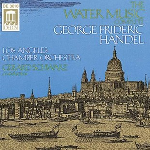 Water Music [complete] (Schwarz, Los Angeles Co) - CD / Album - Music Classical Music