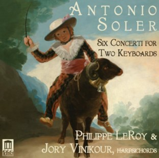 Antonio Soler: Six Concerti for Two Keyboards - CD / Album - Music Classical Music