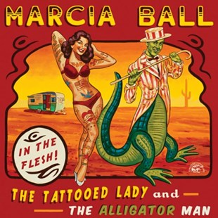 The Tattooed Lady and the Alligator Man - CD / Album - Music Blues