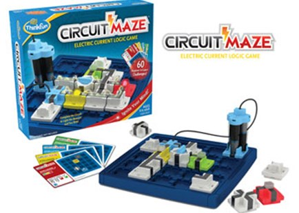 ThinkFun - Circuit Maze Game - Children's Toys & Games Games & Puzzles
