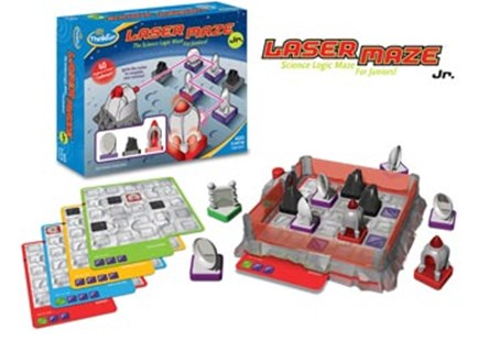 ThinkFun - Laser Maze Jr. Game by  (0019275010454) - Game - Children's Toys & Games Games & Puzzles