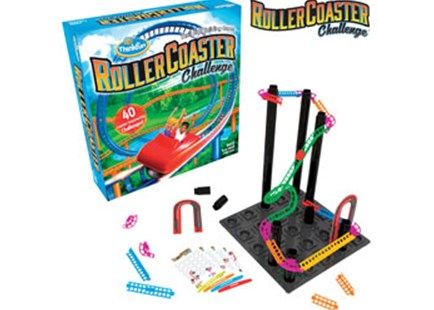 ThinkFun - Roller Coaster Challenge by  (0019275010461) - Game - Children's Toys & Games Games & Puzzles