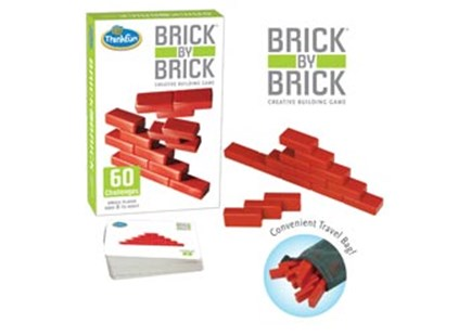 ThinkFun - Brick by Brick Game by  (0019275059019) - Game - Children's Toys & Games Games & Puzzles