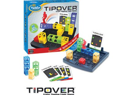 ThinkFun - Tip Over Game - Children's Toys & Games Games & Puzzles