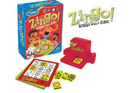 ThinkFun - Zingo! Game by  (0019275077006) - Game - Children's Toys & Games Games & Puzzles