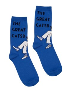The Great Gatsby Socks - Small by Out Of Print (0024589800240) - PaperBack