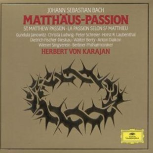 Johann Sebastian Bach: St. Matthew Passion - CD / Album - Music Classical Music