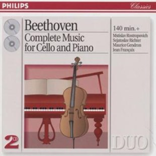 Ludwig Van Beethoven - COMPLETE CELLO & PIANO MUSIC - CD / Album - Music Classical Music