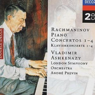 Rachmaninov: Piano Concertos 1-4 - CD / Album - Music Classical Music