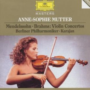 Anne-Sophie Mutter: Mendelssohn and Brahms Violin Concertos - CD / Album - Music Classical Music