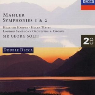Mahler: Symphonies 1 & 2 (London Symphony Orchestra / Solti) - CD / Album - Music Classical Music