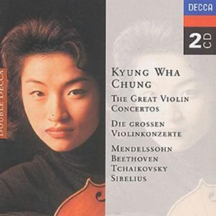 Kyung Wha Chung: The Great Violin Concertos - CD / Album - Music Classical Music