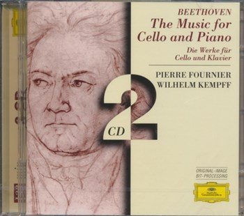Music for Cello and Piano (Fournier, Kempff) - CD / Album - Music Classical Music