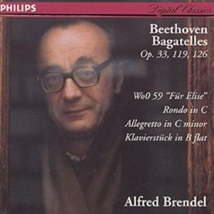 Beethoven: Bagatelles Op. 33, 119, 126 - CD / Album - Music Classical Music