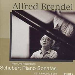 Alfred Brendel - Schubert PIano Sonatas/ New Live Recordings - CD / Album - Music Classical Music