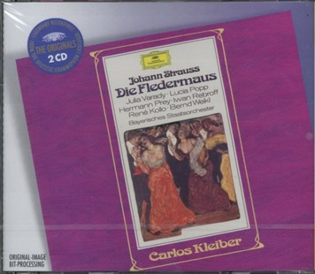 Johann Strauss: Die Fledermaus - CD / Album - Music Classical Music