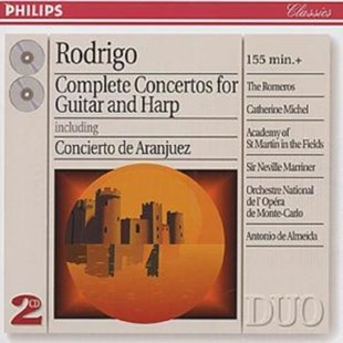 Complete Concertos for Guitar and Harp - CD / Album - Music Classical Music