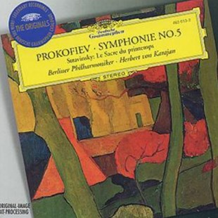 Prokofiev: Symphony No. 5 - Stravinsky: The Rite of Spring (Berli - CD / Album - Music Classical Music