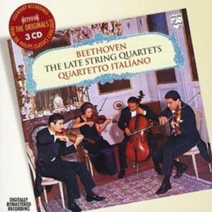 Late String Quartets (Quartetto Italiano, Borciani) - CD / Album - Music Classical Music