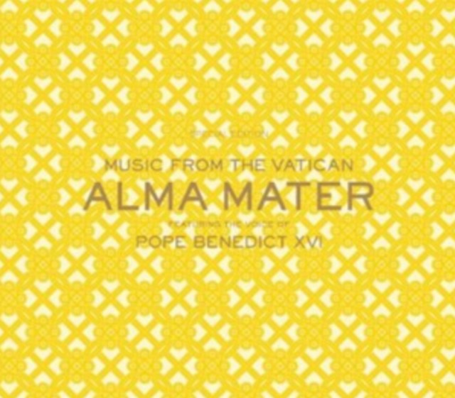 Music From the Vatican - Alma Mater - featuring the Voice of Pope Benedict XVI (CD/DVD)