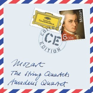 Wolfgang Amadeus Mozart: The String Quartets - CD / Album - Music Classical Music