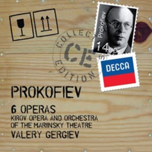 Sergei Prokofiev: 6 Operas - CD / Box Set - Music Classical Music