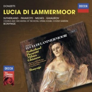 Donizetti: Lucia Di Lammermoor - CD / Album - Music Classical Music