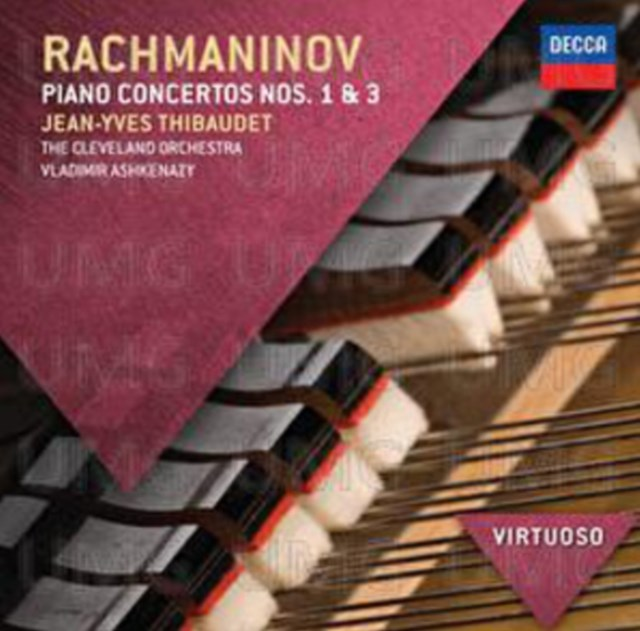 Rachmaninov: Piano Concertos Nos. 1 & 3 - CD / Album