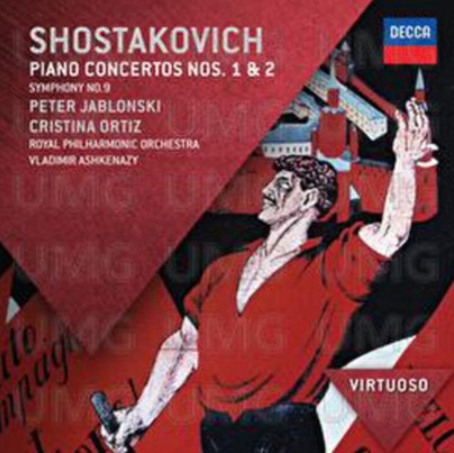 Shostakovich: Piano Concertos Nos. 1 & 2 - CD / Album