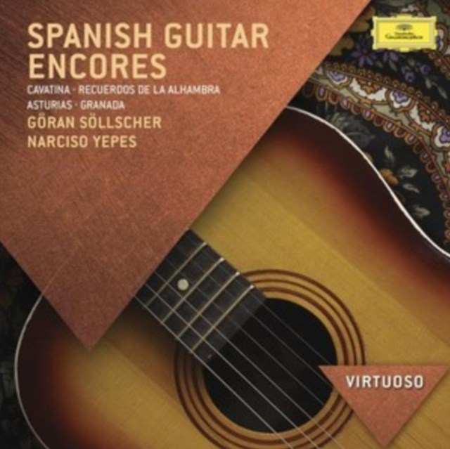 Spanish Guitar Encores - CD / Album