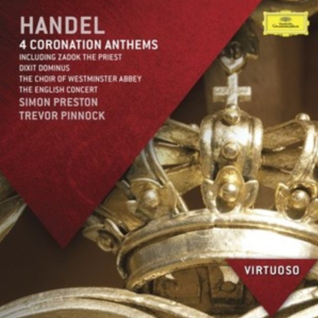 Handel: 4 Coronation Anthems - CD / Album