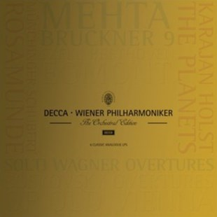 "Wiener Philharmoniker: The Orchestral Edition - Vinyl / 12"" Album Box Set by  (0028947874645) - Vinyl - Music Classical Music"