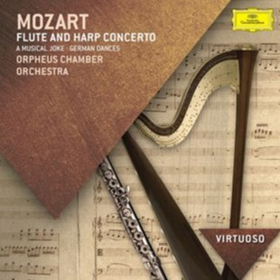 Mozart: Flute and Harp Concerto/A Musical Joke/German Dances - CD / Album - Music Classical Music