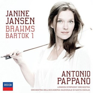 Janine Jansen: Brahms/Bartok 1 - CD / Album - Music Classical Music