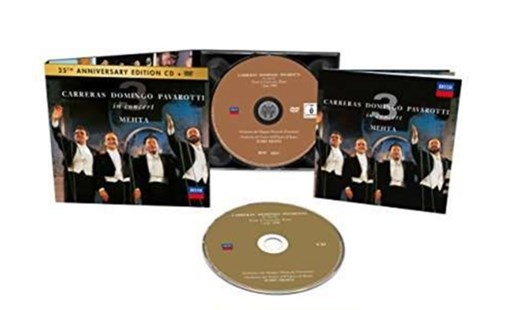 Carreras/Domingo/Pavarotti in Concert - CD / Album with DVD - Music Classical Music