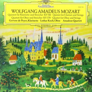 "Wolfgang Amadeus Mozart: Quintet for Clarinet and Strings/... - Vinyl / 12"" Album by  (0028947951193) - Vinyl - Music Classical Music"