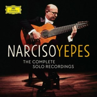 Narciso Yepes: The Complete Solo Recordings - CD / Box Set - Music Classical Music