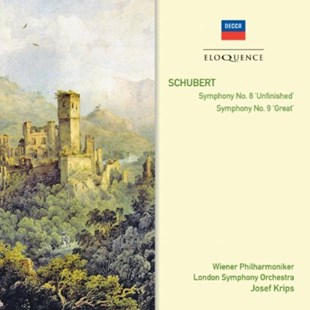 Schubert: Symphony No. 8, 'Unfinished'/Symphony No. 9, 'Great' - CD / Album - Music Classical Music