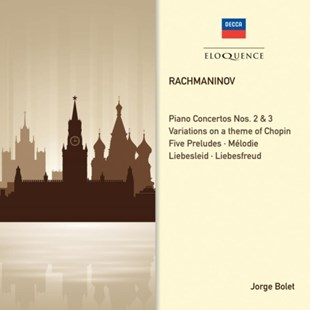 Rachmaninov: Piano Concertos 2 and 3/Solo Piano Works - CD / Album - Music Classical Music