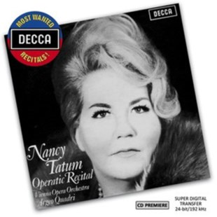 Nancy Tatum: Operatic Recital - CD / Album - Music Classical Music