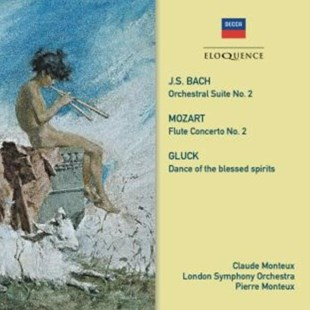 J.S. Bach/Mozart/Gluck: Music for Flute and Orchestra - CD / Album - Music Classical Music