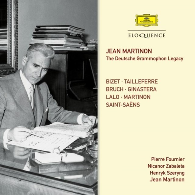 JEAN MARTINON - THE DEUTSCHE GRAMMOPHON LEGACY CD