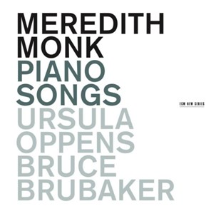 Meredith Monk: Piano Songs - CD / Album - Music Classical Music