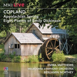 Copland: Appalachian Spring/Eight Poems of Emily Dickinson - CD / Album - Music Classical Music
